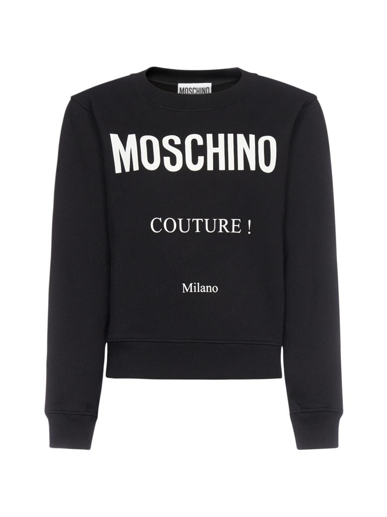Moschino Fleece - Fantasy print black