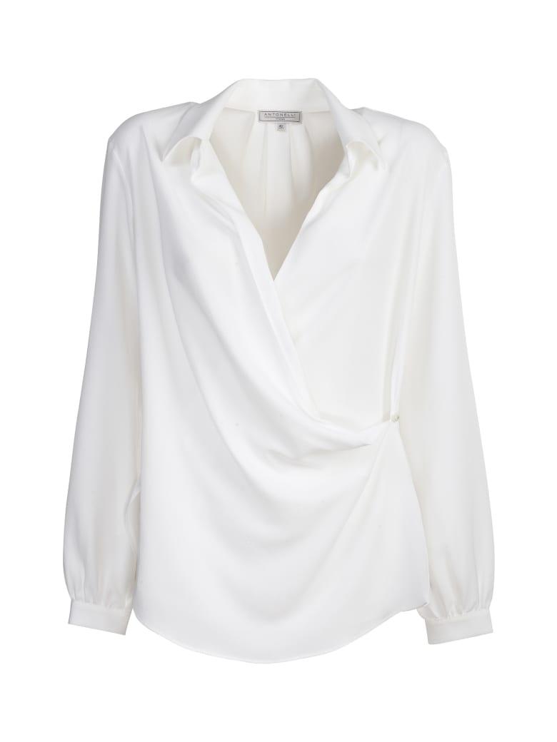 Antonelli silk shirt - Panna