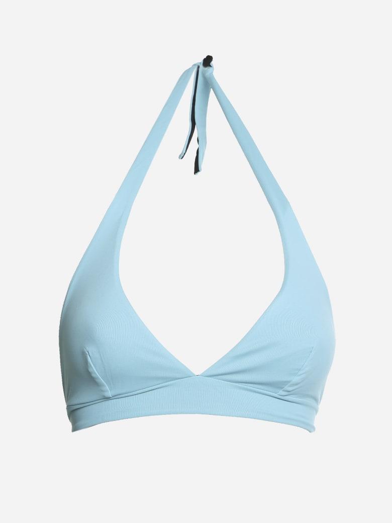 Fisico - Cristina Ferrari Reversible Two-tone Triangle Bikini - Turchese+nero