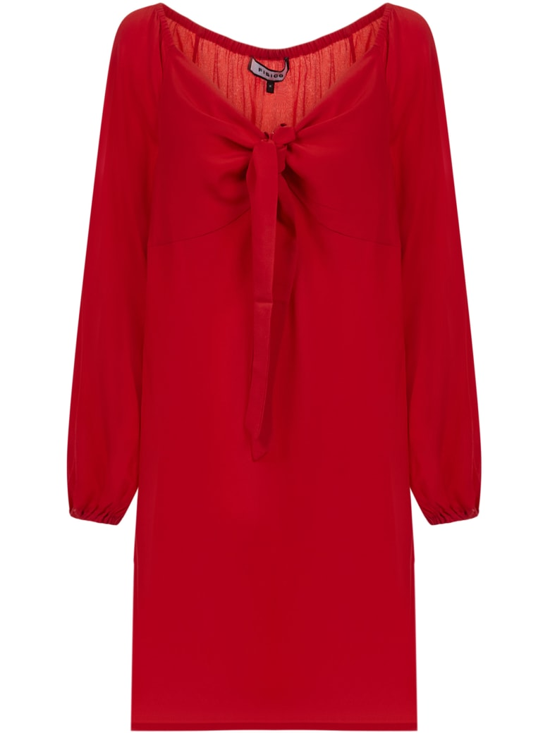 Fisico - Cristina Ferrari Fisico Dress - Red