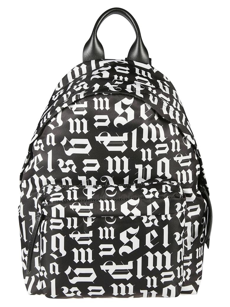 Palm Angels Broken Monogram Backpack - Nero