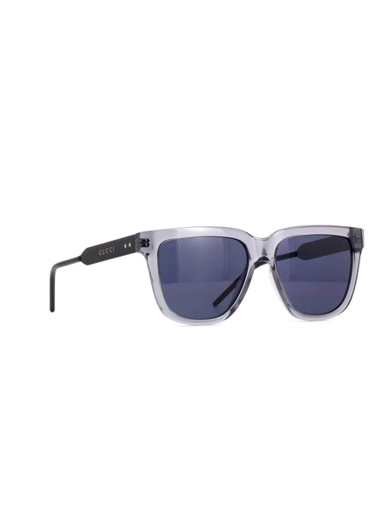 Gucci GG0976S Sunglasses - Grey Black Smoke