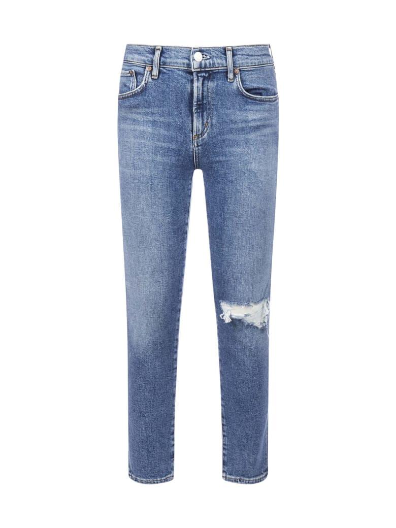 AGOLDE Toni Skinny Jeans - Shoreline