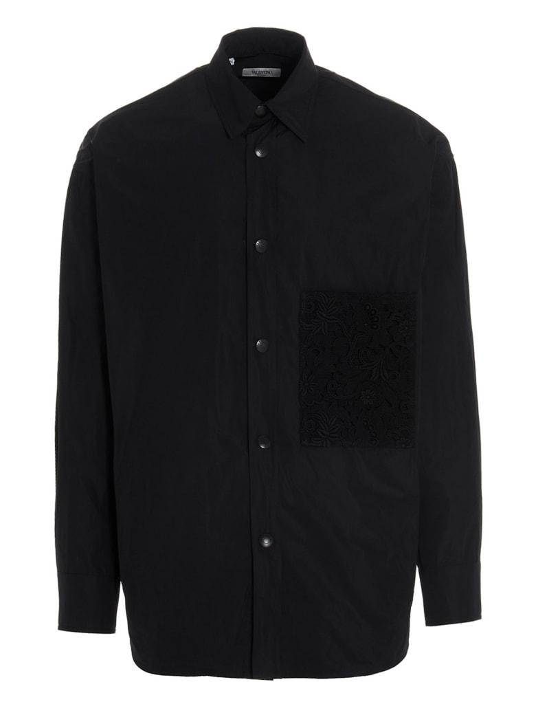 Valentino 'lace' Shirt - Black
