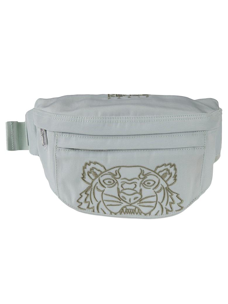 Kenzo Spring Embroidered Belt Bag - Sage Green