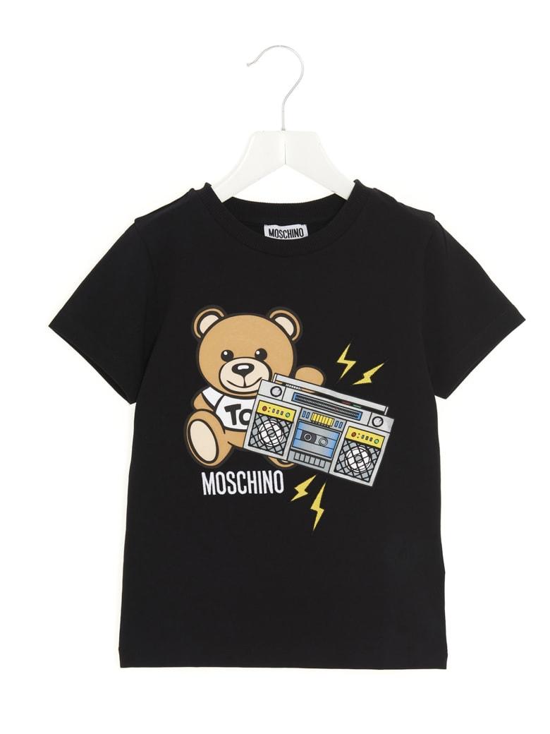 Moschino 'addition' T-shirt - Black