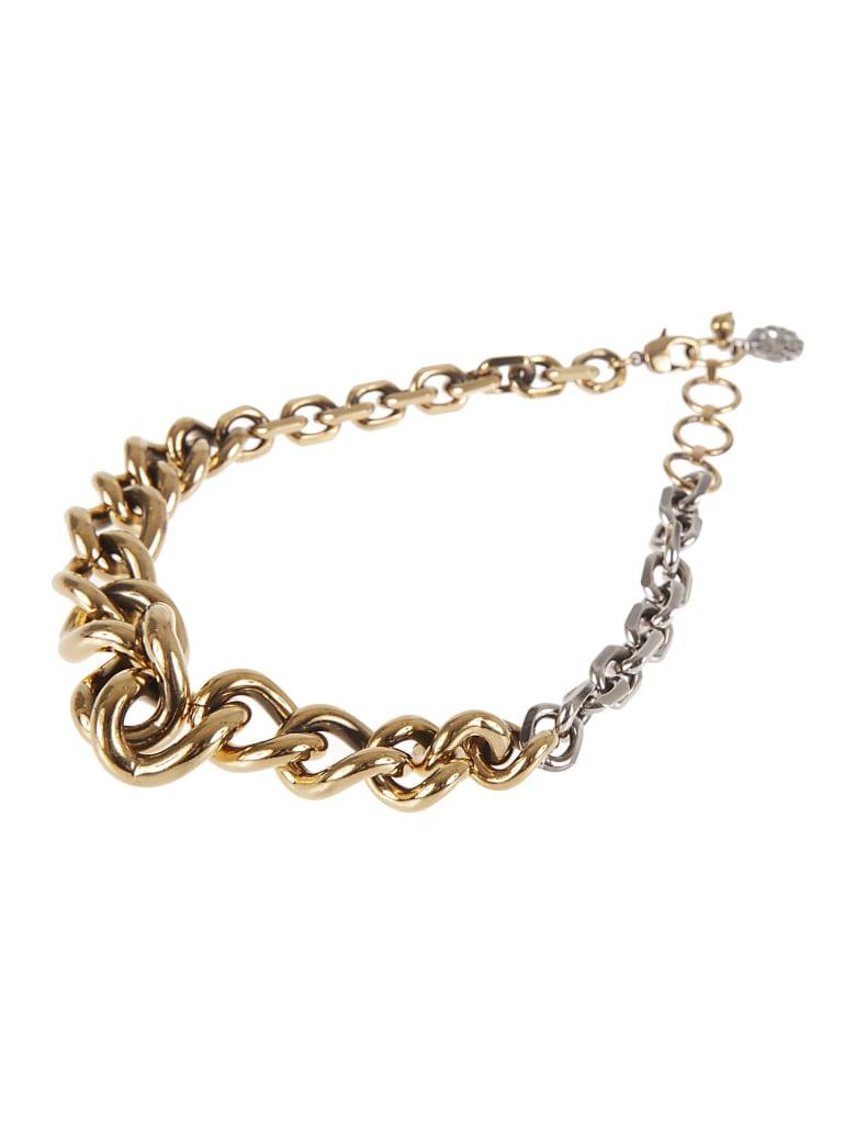 Alexander McQueen Chain Necklace - Gold/Silver