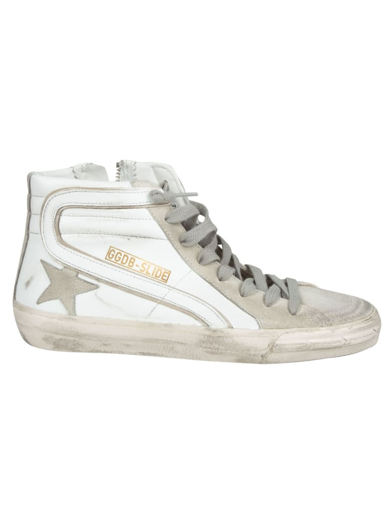 Golden Goose Classic Slide Sneakers - White/Ice