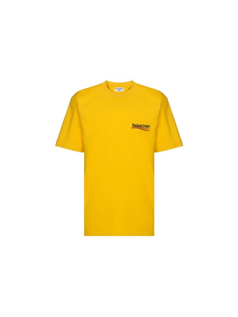 Balenciaga T-shirt - Yellow/black/red