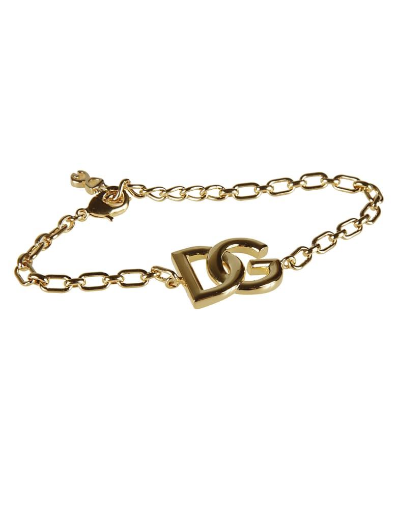 Dolce & Gabbana Dg Logo Chain Bracelet - Gold