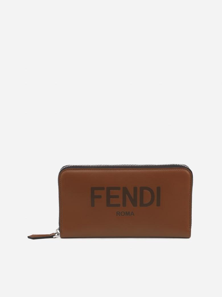 Fendi Fendi Leather Wallet - Brown
