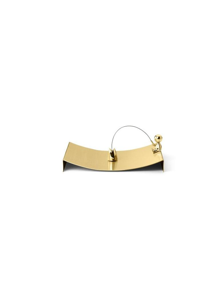 Ghidini 1961 Omini - The Fisherman Napkins Tray Polished Brass - Polished brass