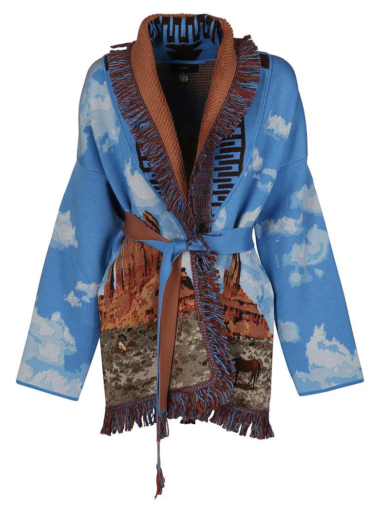 Alanui Multicolor Wool Blend Cardigan - Multicolor