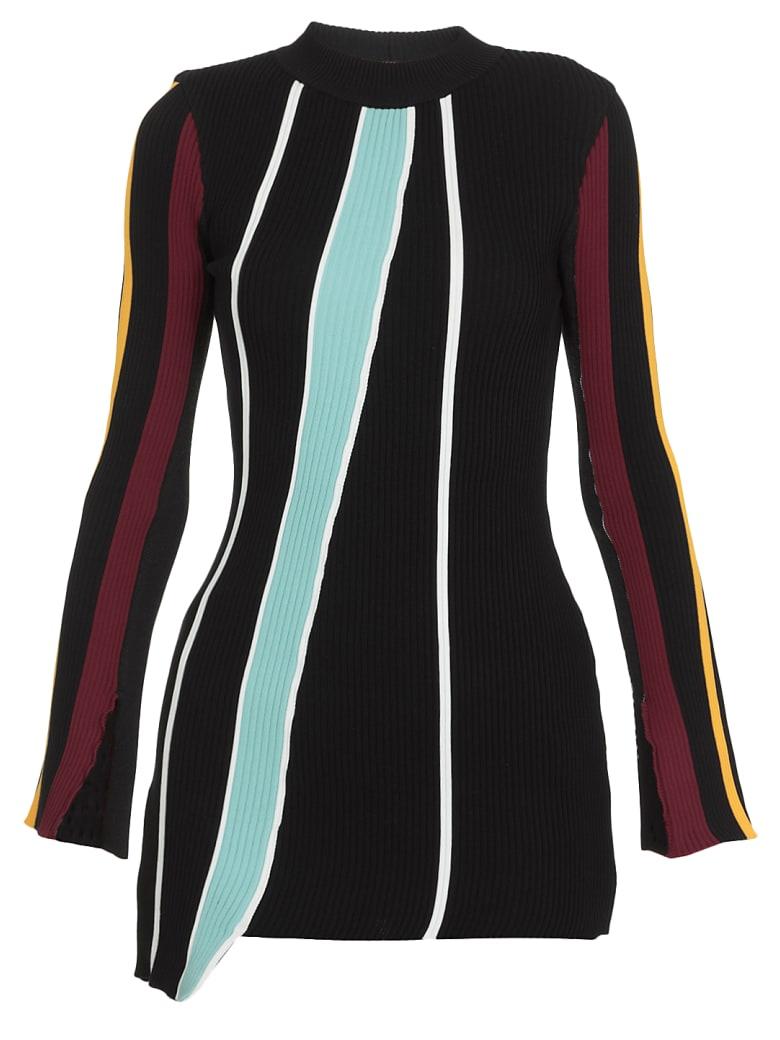 AMBUSH Stretch Sweater - BLACK WHITE