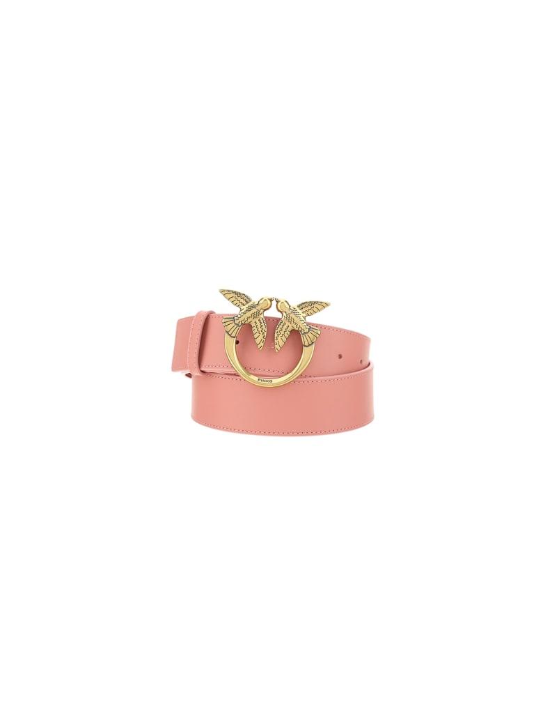 Pinko Love Berry Simply Belt - Rosa-rossor