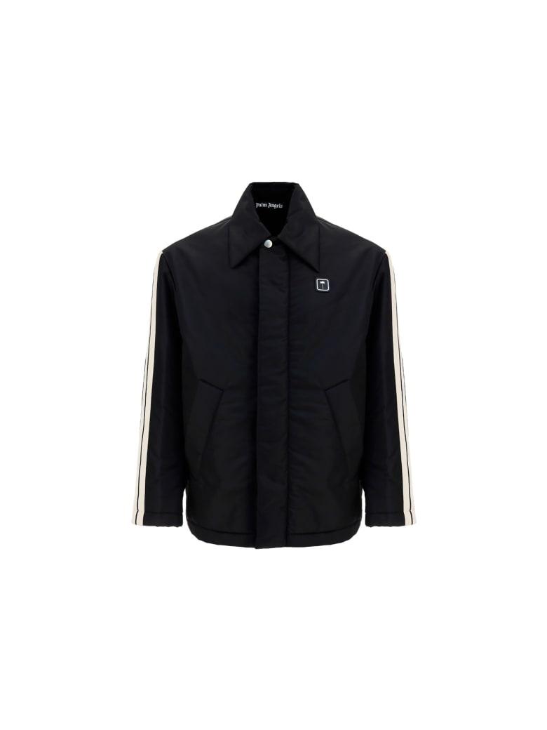 Palm Angels Jacket - Black white