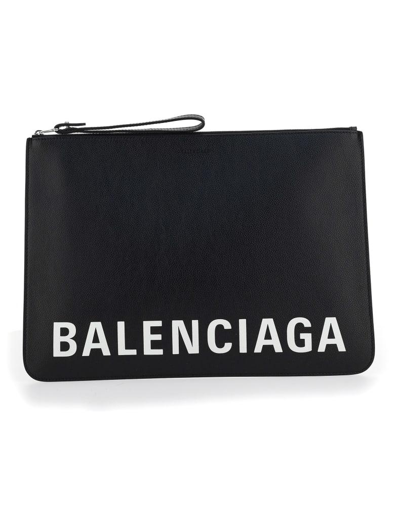 Balenciaga Pouch - NERO/BIANCO
