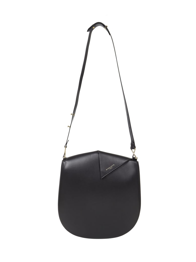 Giaquinto Peggy Hobo Shoulder Bag - Black