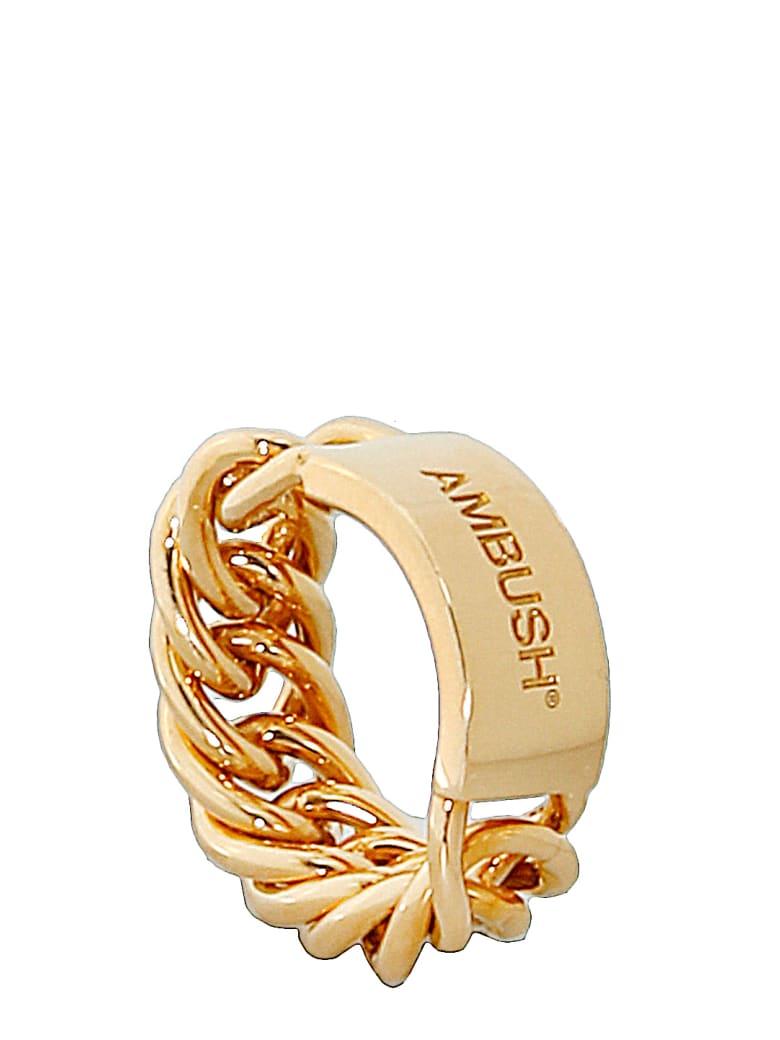 AMBUSH Gold-plated Silver Ring - GOLD