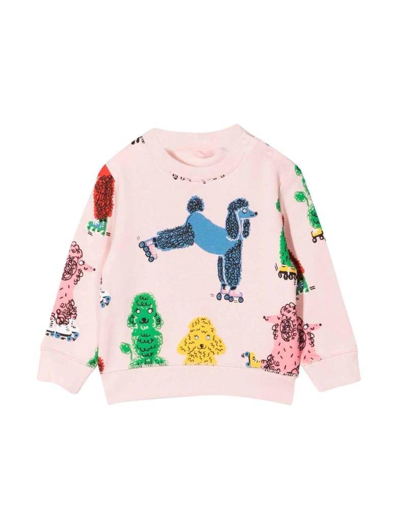 Stella McCartney Kids Newborn Pink Sweatshirt