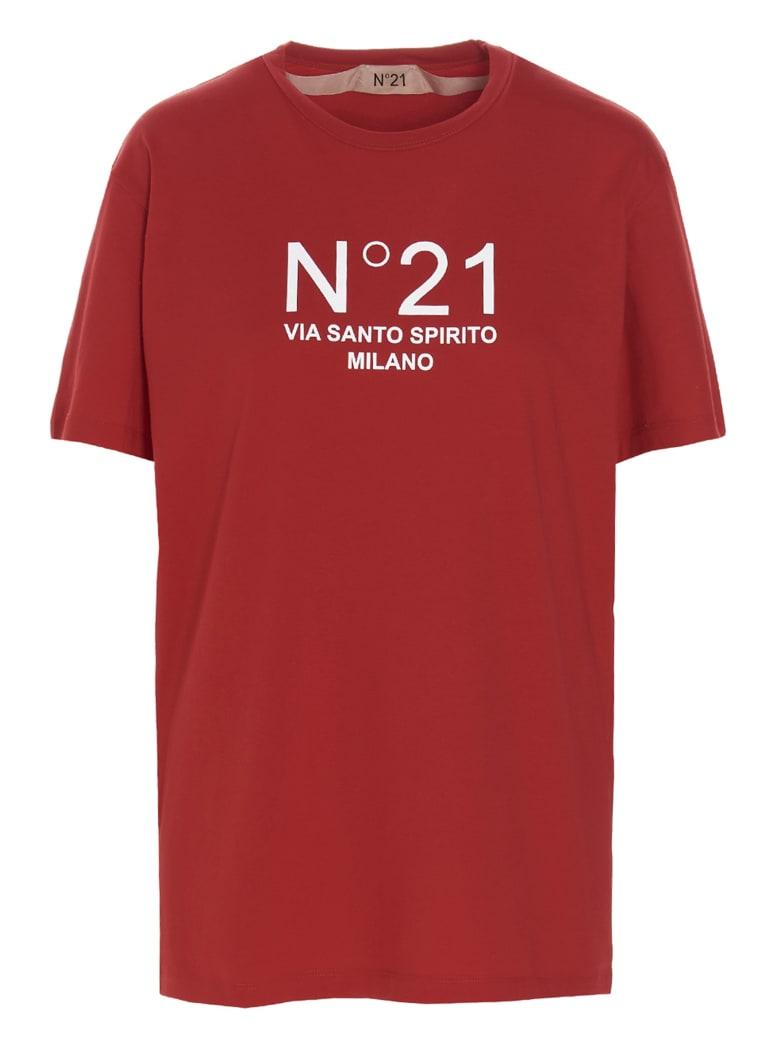 N.21 'n21 Santo Spirito' T-shirt - Red