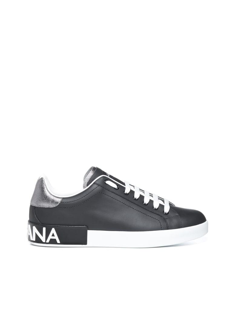 Dolce & Gabbana Sneakers - Nero argento