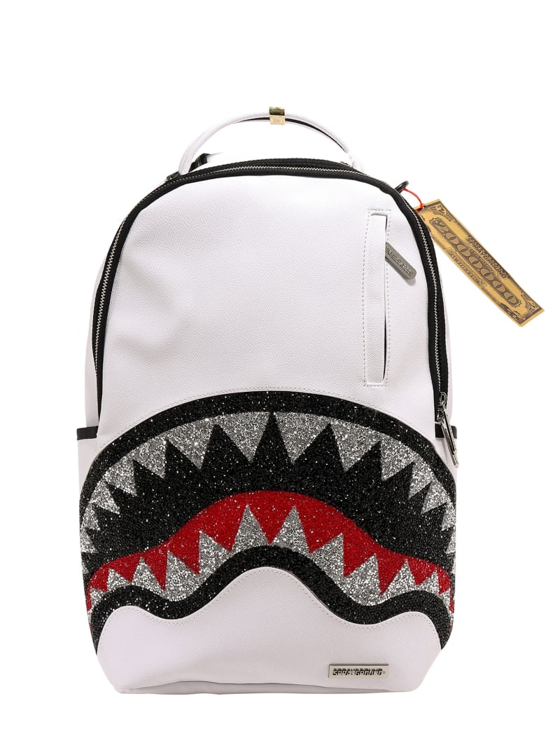 Sprayground Backpack - White