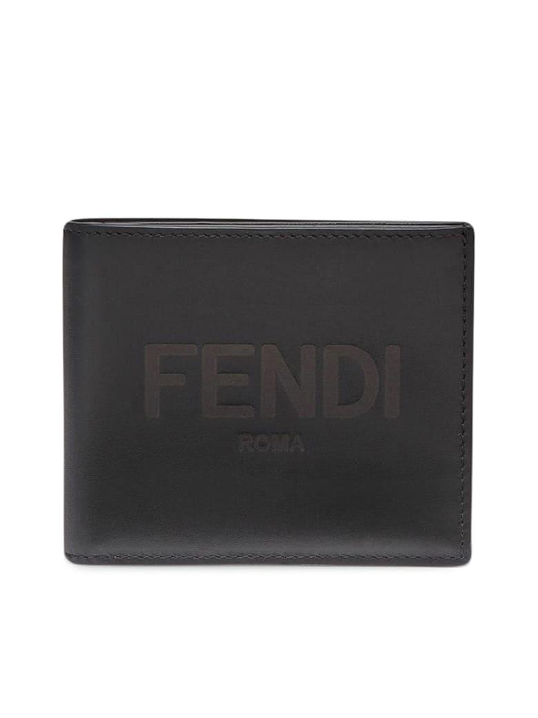 Fendi Wallet Vit. King - Gxn Black Palladio
