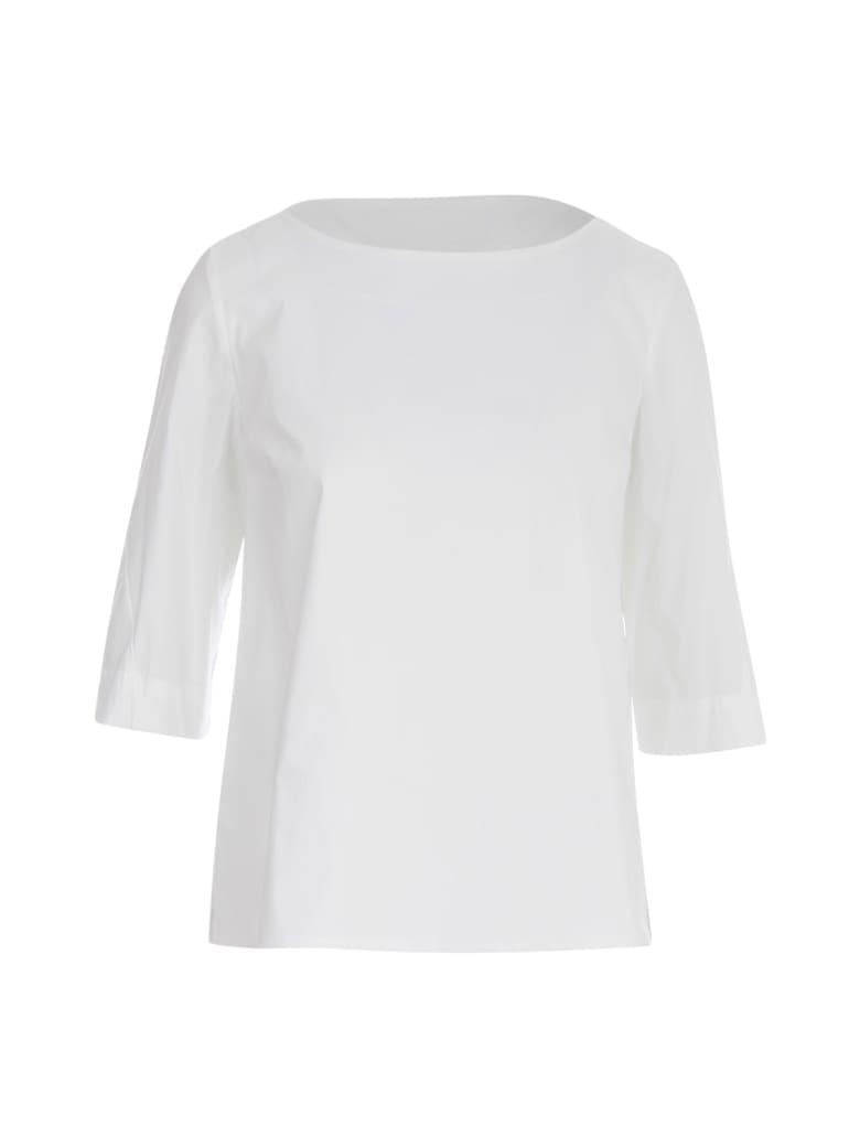 Liviana Conti Flared Shirt - White