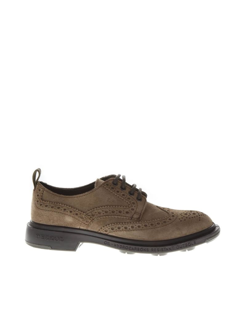 Pezzol 1951 Brown Leather Derby Shoes - Brown