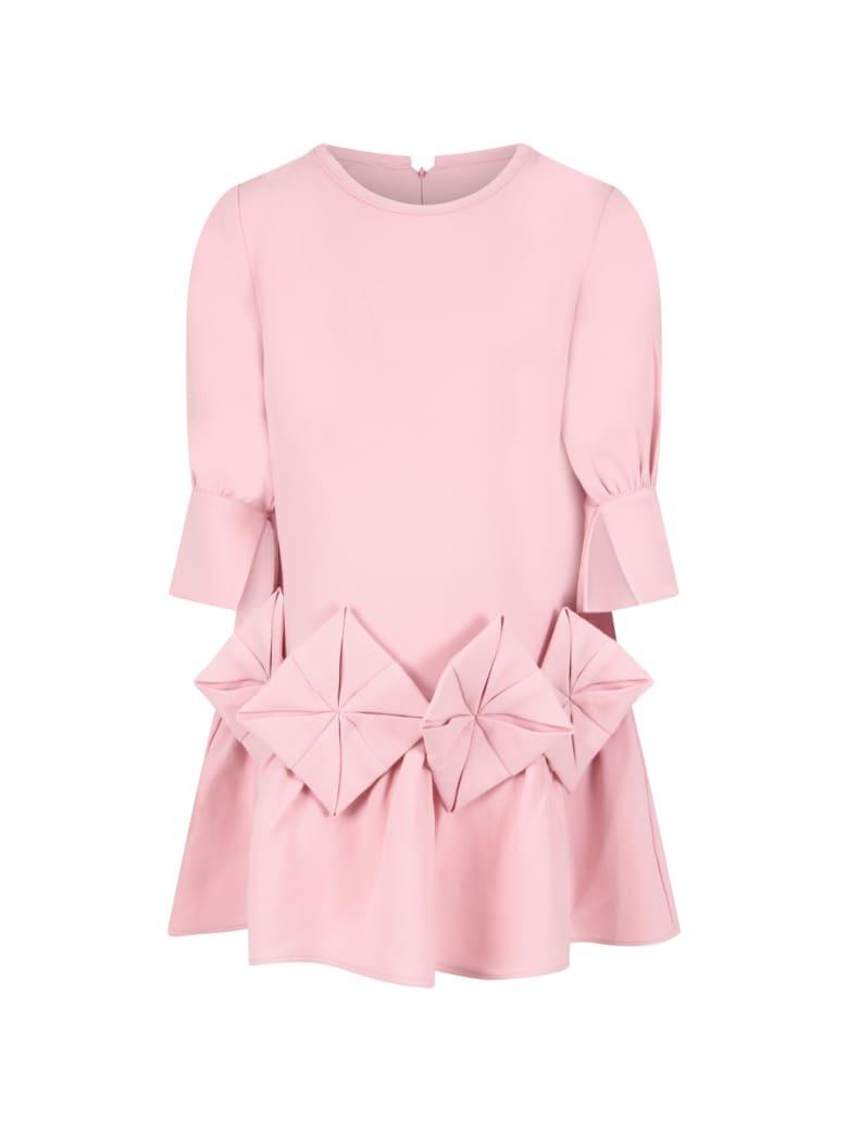 Owa Yurika Pink ''shion'' Dress For Girl - Pink