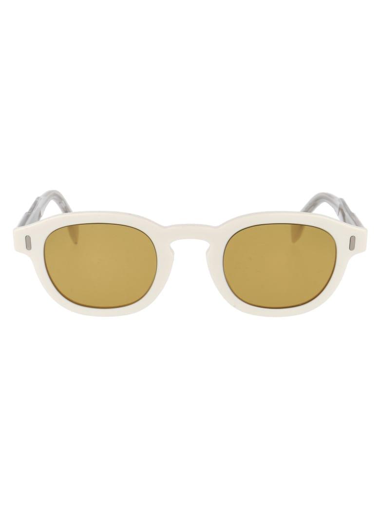 Fendi Ff M0100/g/s Sunglasses - 7UH70 IVORY CRYSTAL