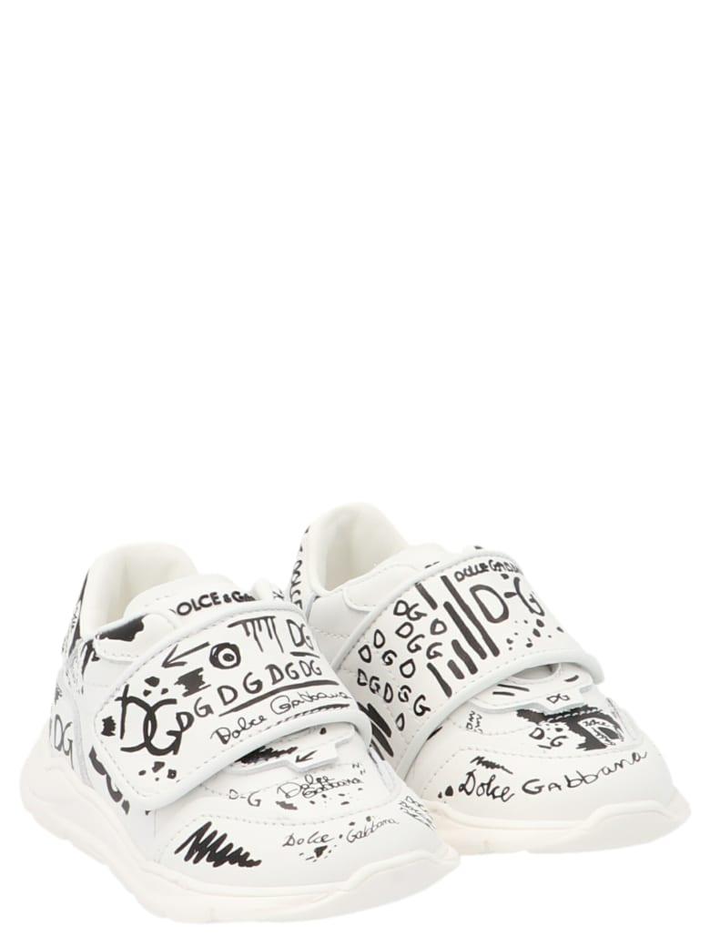 Dolce & Gabbana 'dna' Shoes - Black&White
