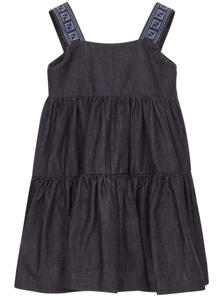 Fendi Kids Dress - Blue