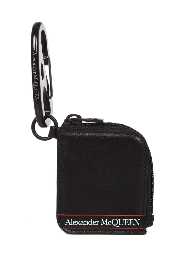 Alexander McQueen Key Ring - Black