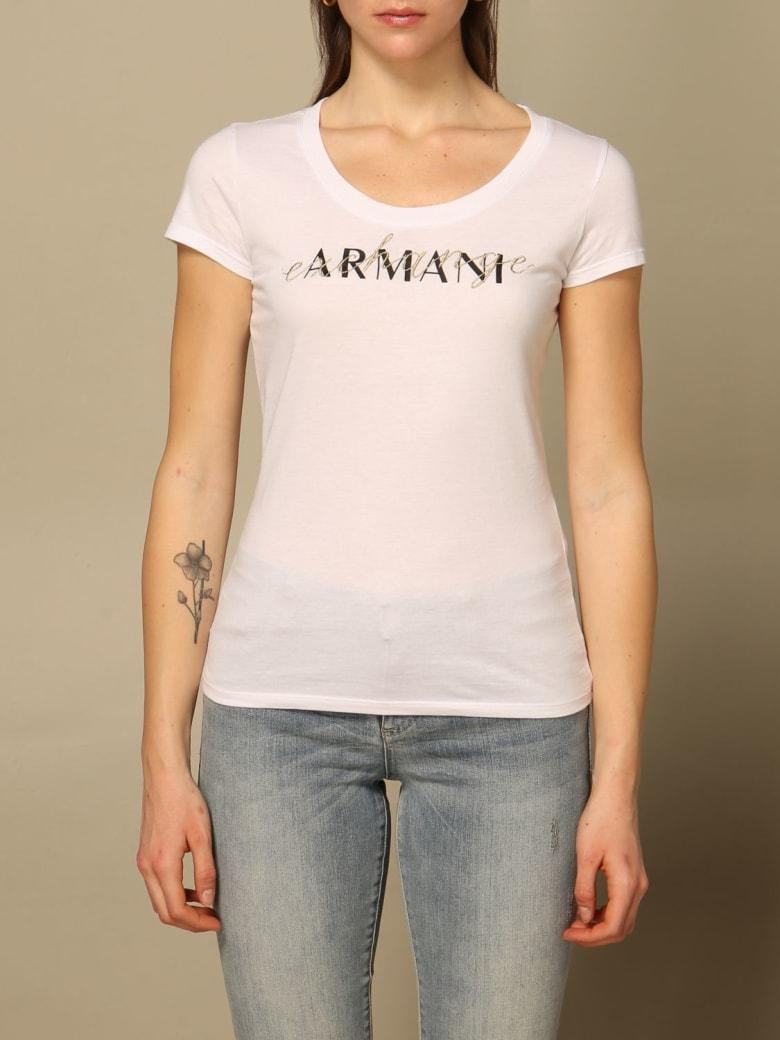 Armani Collezioni Armani Exchange T-shirt Armani Exchange T-shirt With Logo - White