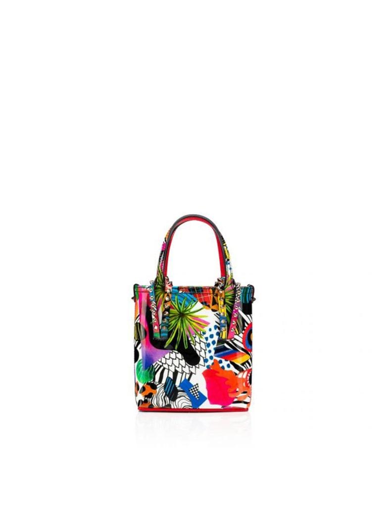 Christian Louboutin Multicolor Patent Cabata Mini Bag - MULTICOLOR