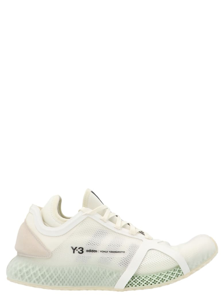 Y-3 'runner 4d Low' Shoes - White