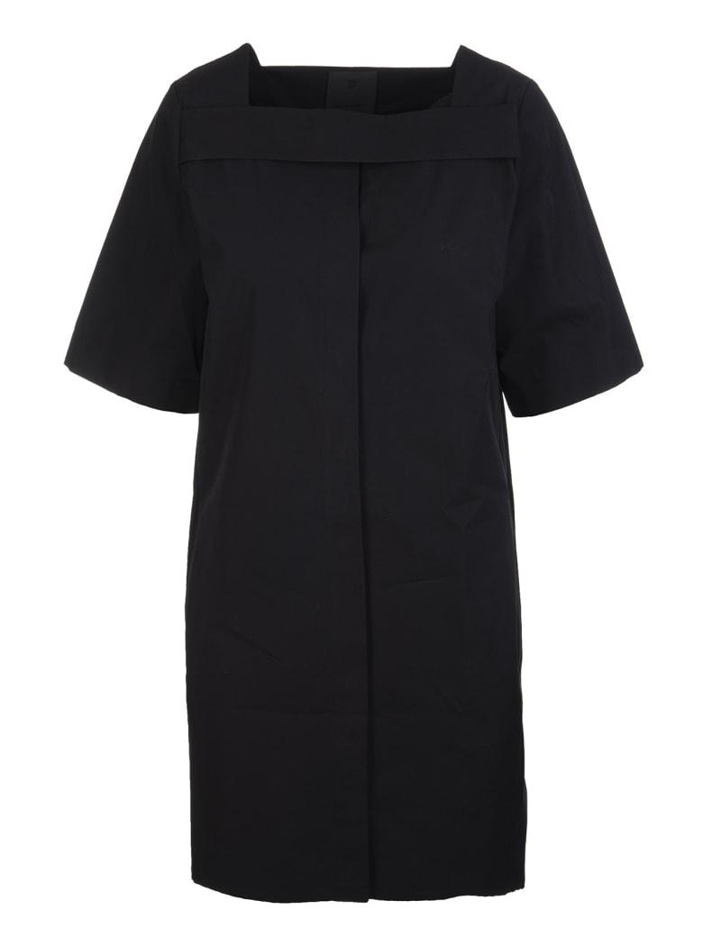 Givenchy Square Neck Short Dress - Noir
