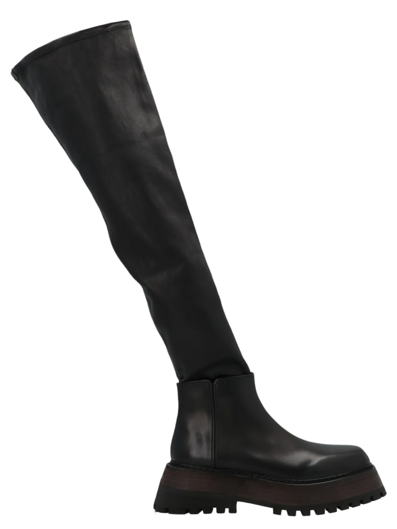 Marsell 'quadrarmato' Shoes - Black