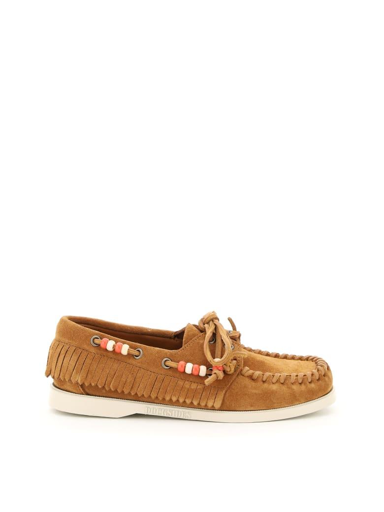 Alanui Dockside Alanui And Sebago Collaboration Loafers - CUBANO BRO (Brown)