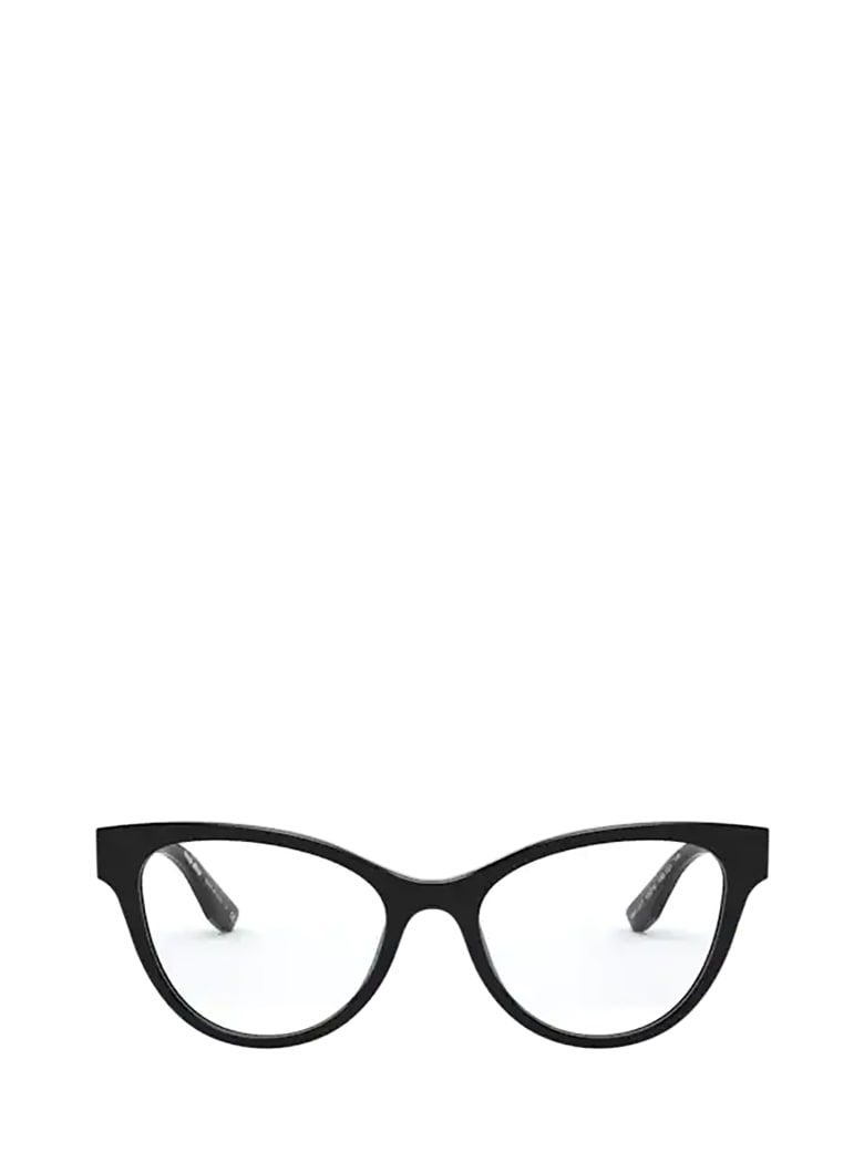 Miu Miu Miu Miu Mu 01tv Black Glasses - Black