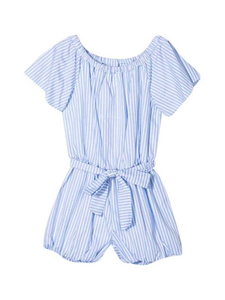 Miss Blumarine Striped Short Jumpsuit - Unico