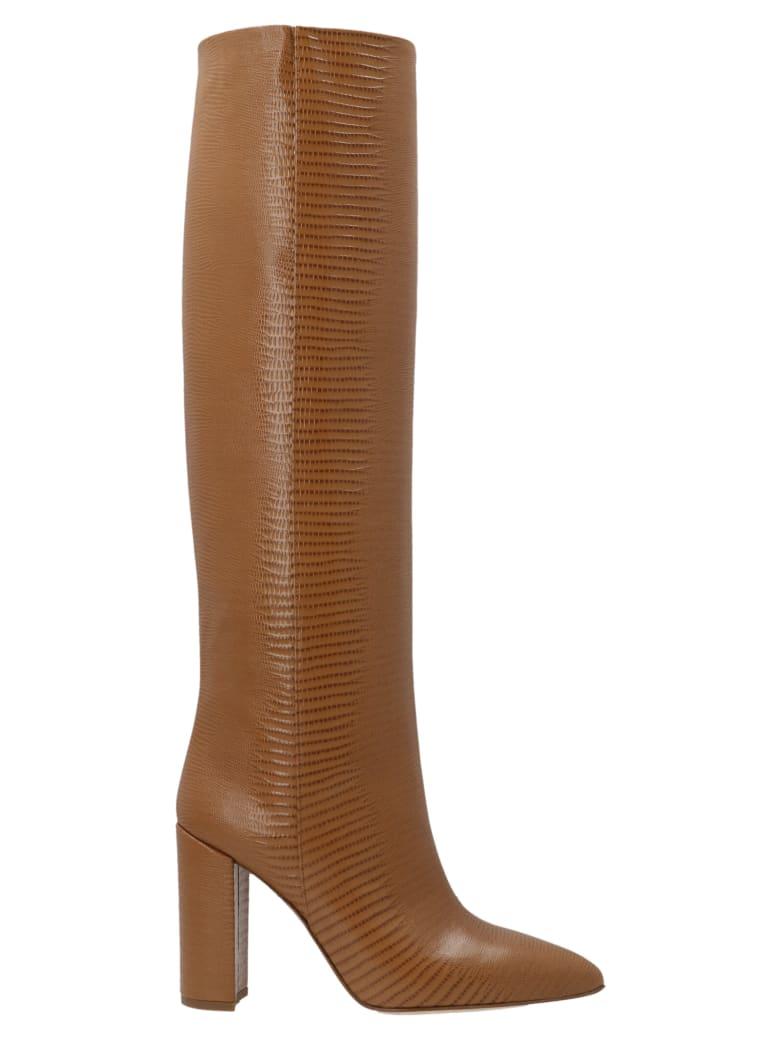 Paris Texas 'block Heel' Shoes - Brown