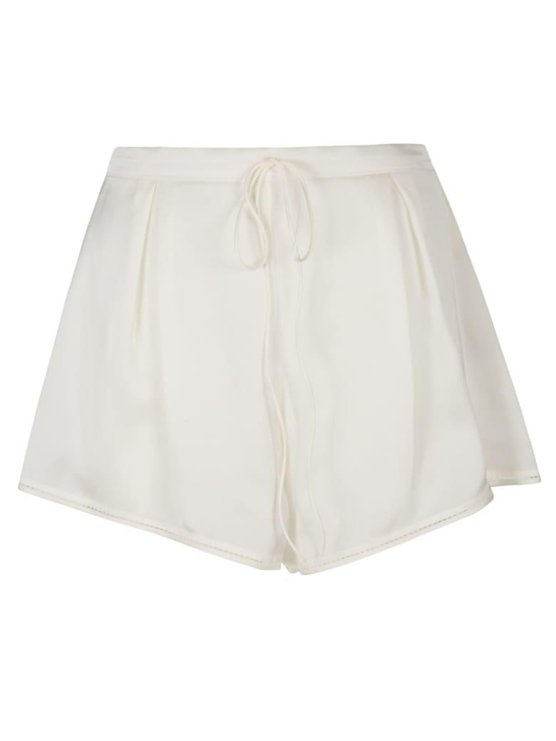 Saint Laurent Drawstring Waist Shorts - Craie