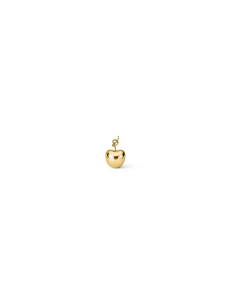 Ghidini 1961 Knotted Cherry - Small Polished Brass - Polished brass