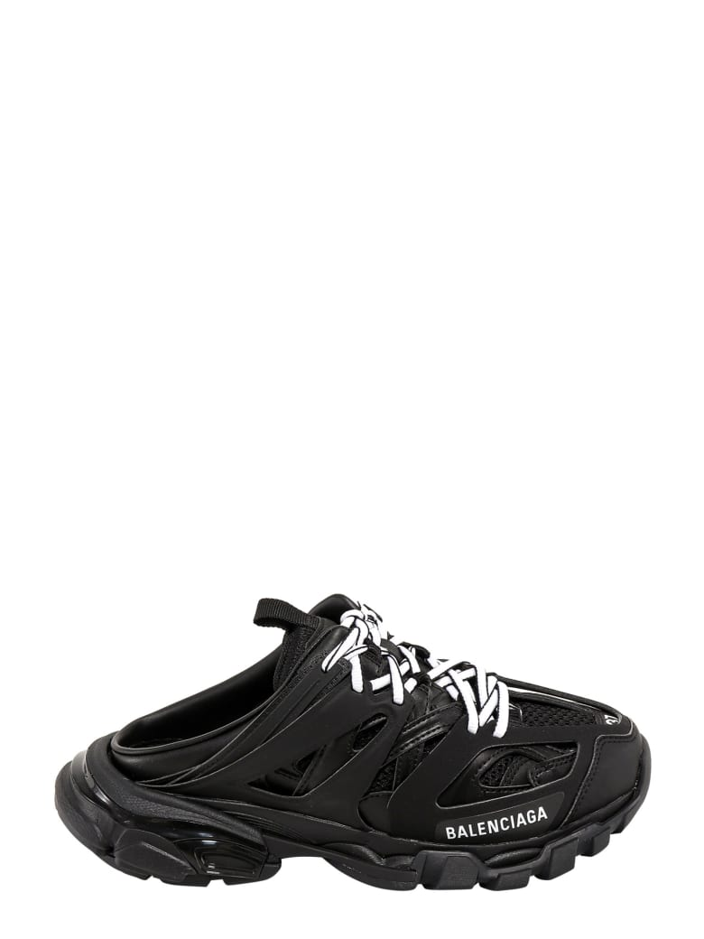 Balenciaga Track Mule Slip-on - Black