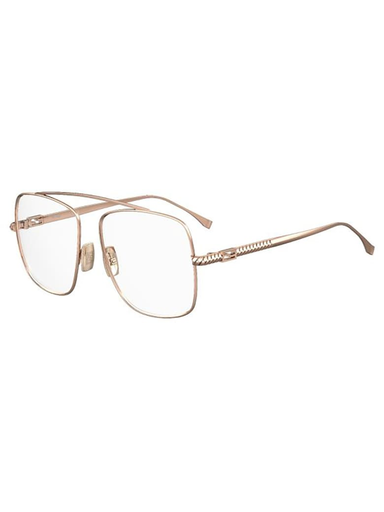Fendi FF 0445 Eyewear - Gold Copper