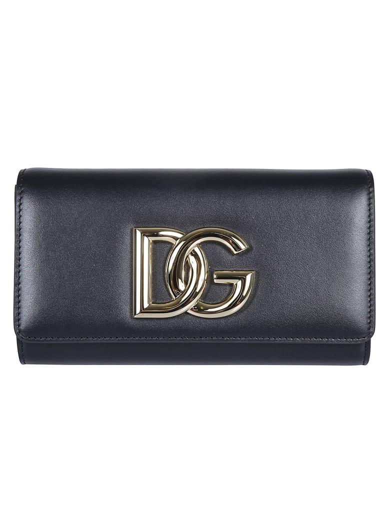 Dolce & Gabbana Logo Continental Wallet - Black