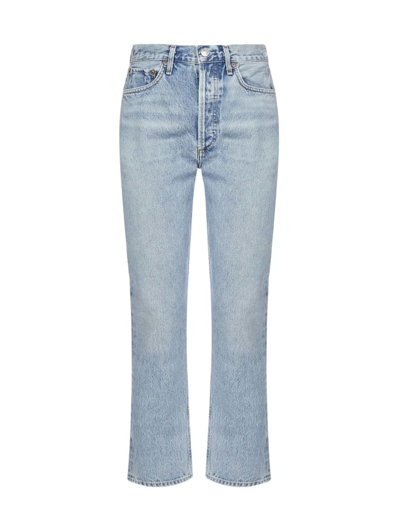 AGOLDE Riley Cropped Jeans - Renewal